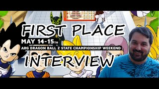 arg nj dragon ball z championship first place interview eric m may 14th 2016 the comic book store