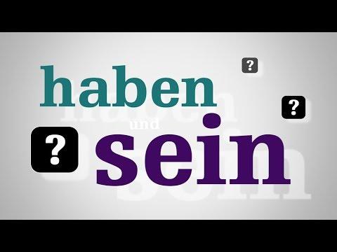 Спряжение немецкого глагола haben (иметь) | The conjugation of the German verb haben (have)