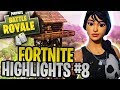 THE BEST SPIKE TRAP TROLLS!!! (Best Fortnite Highlights #8)