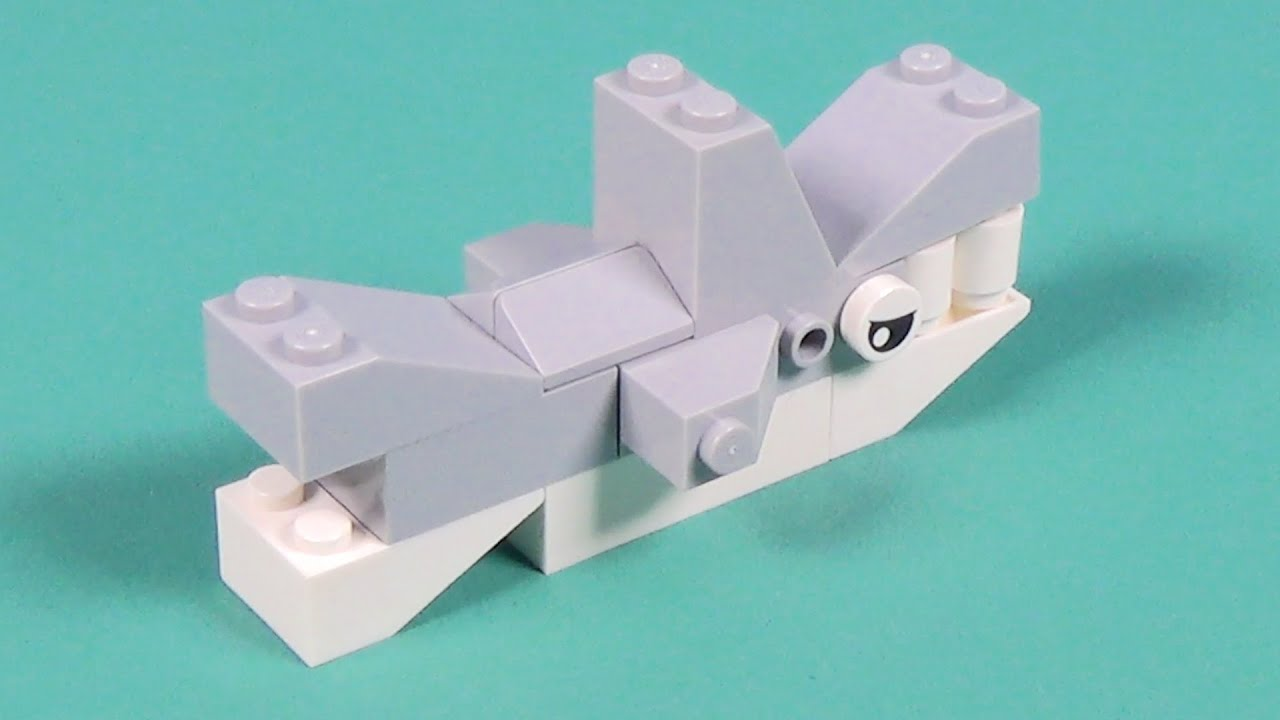 Lego Shark Building Instructions Lego Classic 10693 How To Youtube
