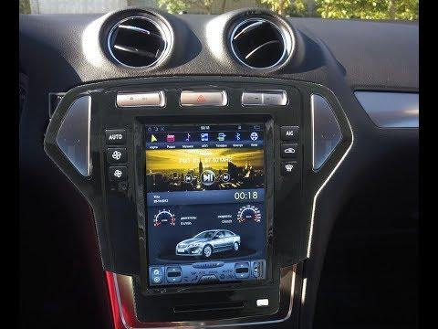 Штатная магнитола в стиле Tesla Ford Mondeo (2007-2010) Android ZOY-8039