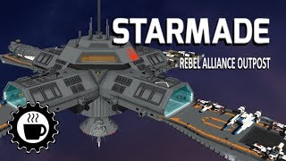 STARMADE Power 2 0 and Rebel Outpost Build