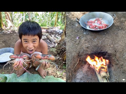 Ginataang Alimango | Cooking Crab With Coconut Milk | Pinoy Style