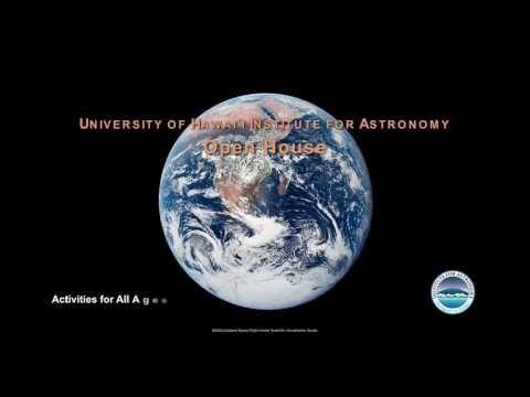 Institute for Astronomy Open House (PSA)