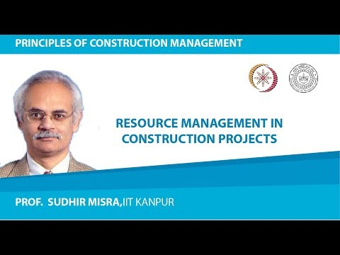 Resource Management In Construction Projects