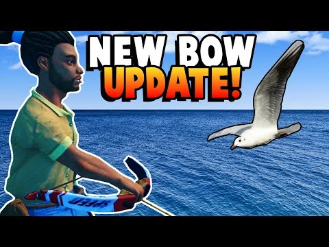 New *BOW* Update For Raft! - Fun Raft Gameplay Multiplayer Part 6 - Survival Game (Kid Friendly)