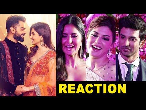 Bollywood Celebs Reaction on Virat Kohli Anushka Sharma Wedding in Italy