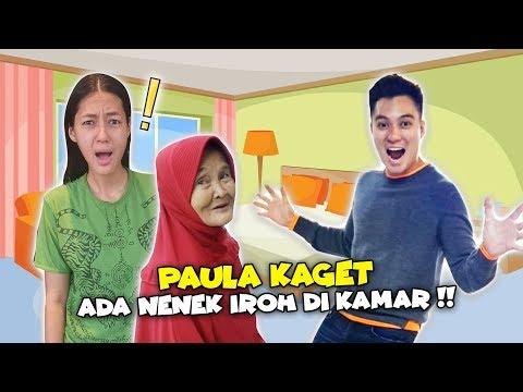 NENEK IRO NGINEP DI RUMAH PAULA SAMA BAIM..