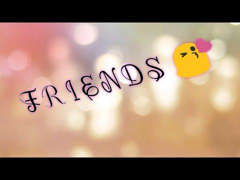 Friends -English poem on true friends.