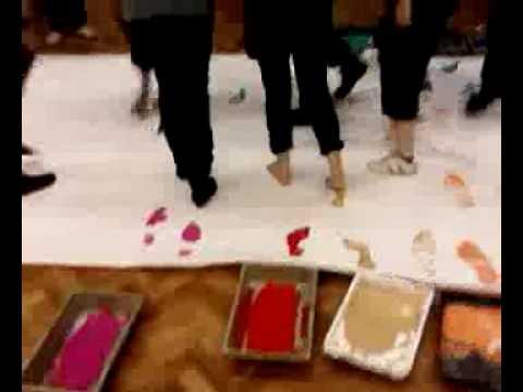 Painting Footprints
