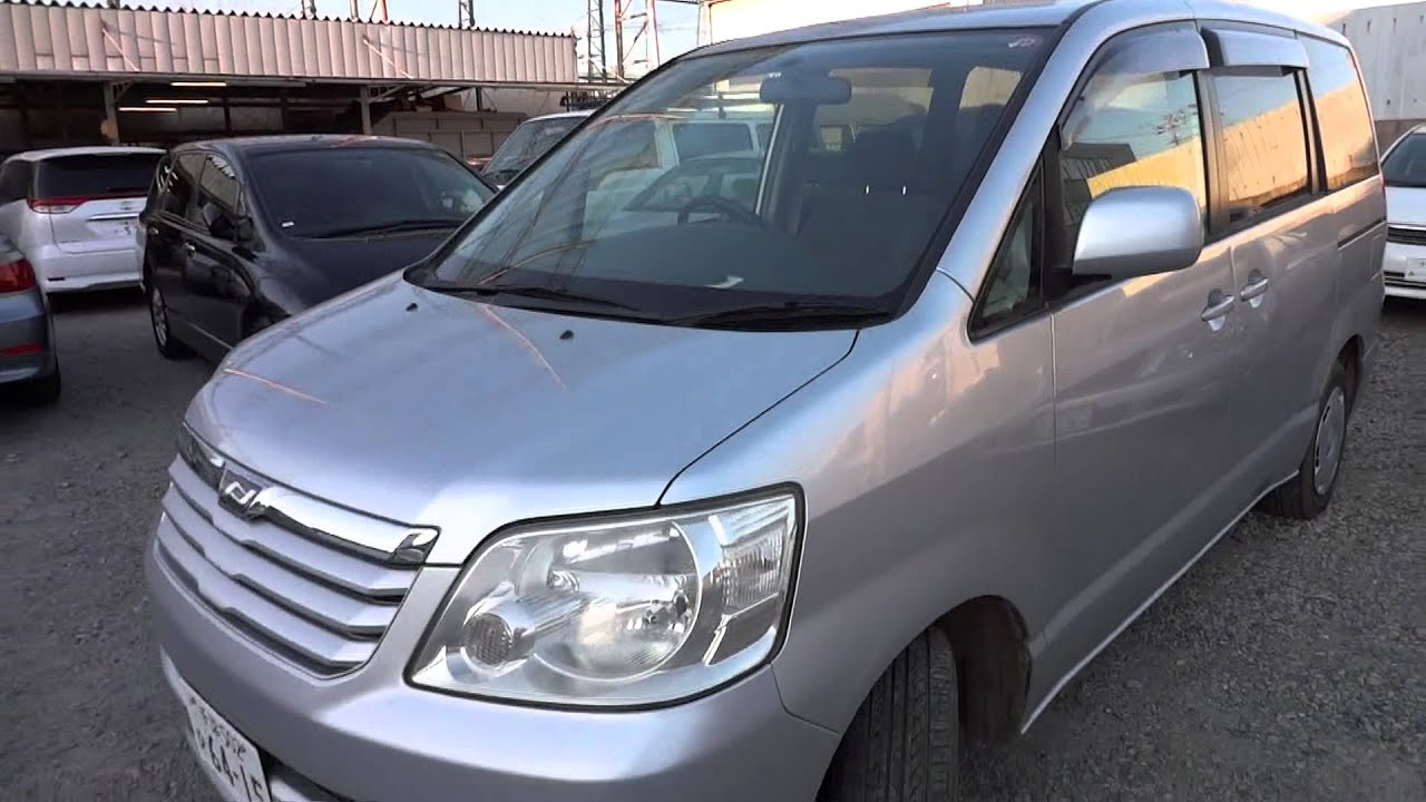 2003 Toyota Noah - family vehicle for sale buy used car in Tokyo ...