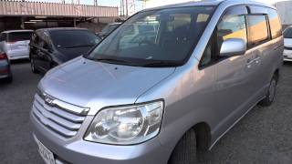 2003 Toyota Noah - family vehicle for sale buy used car in Tokyo Japan.