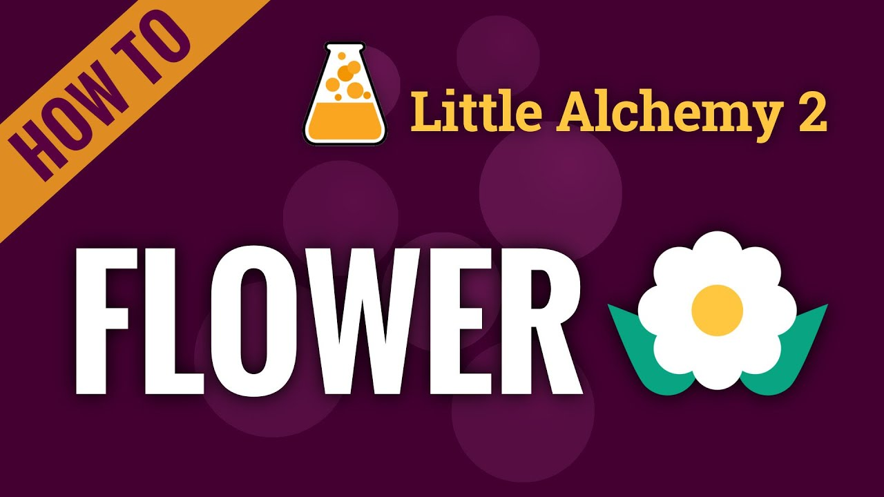 How to make a Flower in Little Alchemy 2 - YouTube