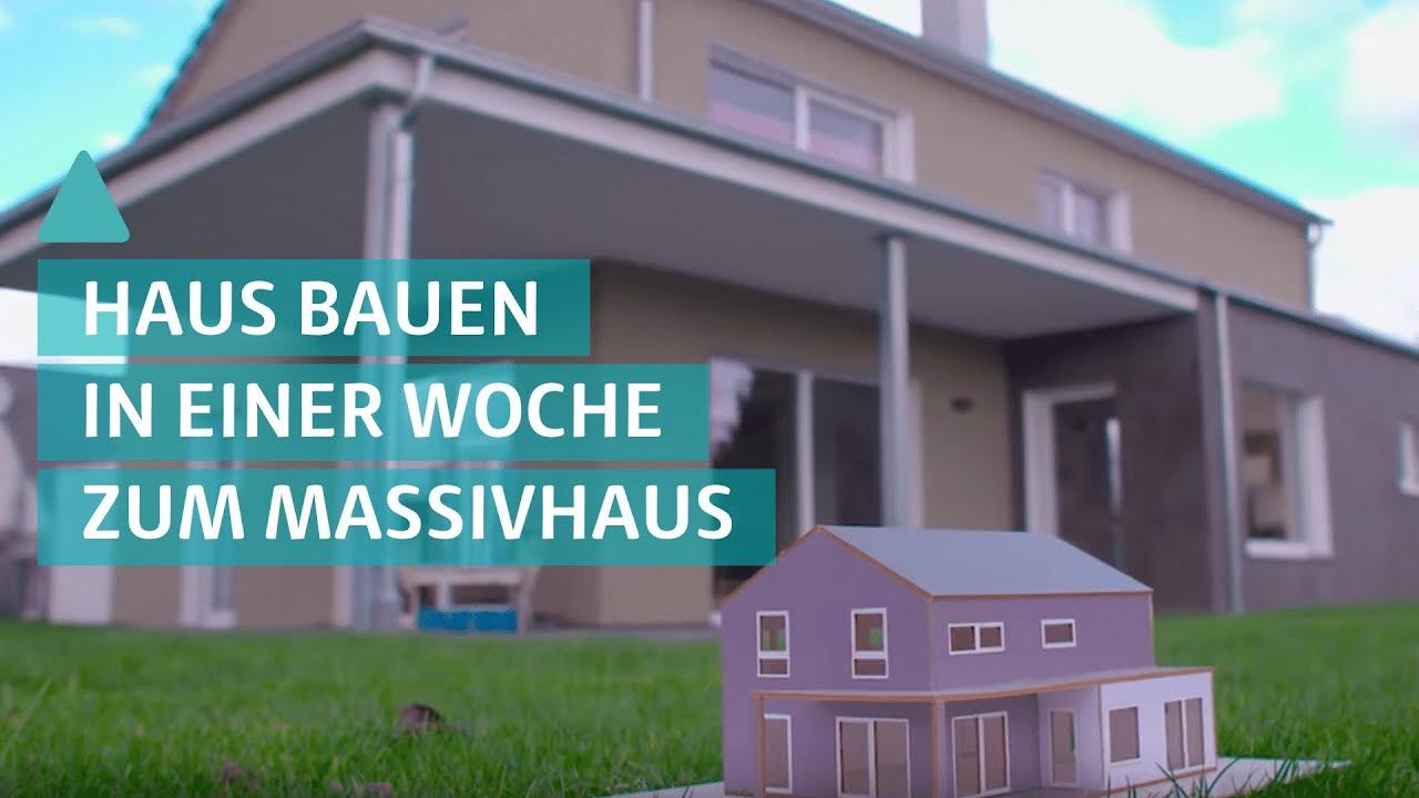Bauen im Schnellverfahren - In einer Woche zum Massivhaus