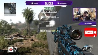 BO2 FFA Live Trickshotting & Sniping With Fans - (PS3) @SawGlidez