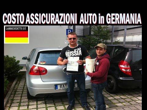 assicurazioni auto in germania prezzi