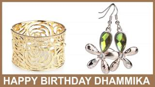 Dhammika   Jewelry & Joyas - Happy Birthday