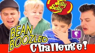 BEAN BOOZLED Jelly Bean Challenge with HobbyKidsTV