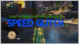 Lego ninjago movie video game | SPEED GLITCH+SLOW MOTION