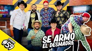 @Cosos Cañon Comediante , Tito El Ranchero y @Los Rojos Oficial  en Zona de Desmadre (Ep.#59 - T3)