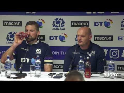 Full post match press conference: Scotland
