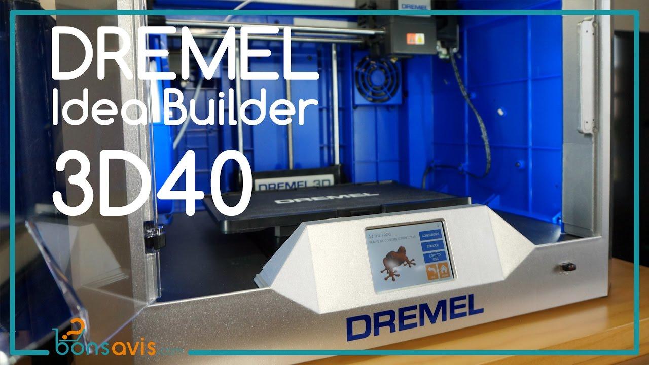 Dremel 3d40 imprimante 3d d ballage mise en marche - Imprimante 3d dremel ...