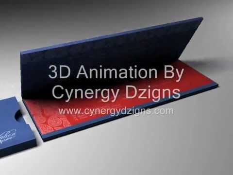 3d animation of invitation card by cynergy dzigns youtube 3d animation of invitation card by cynergy dzigns stopboris Choice Image