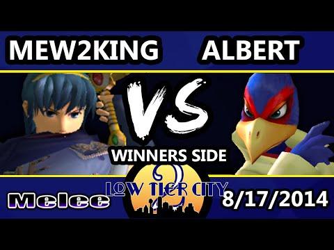 Low Tier City 2 - Albert (Falco) Vs. Mew2King (Sheik, Marth) - Winners Quarters