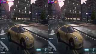 Nvidia 3D Vision - Need for Speed Most Wanted 2012