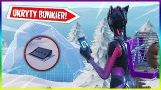 I OPENED A BUNKER HIDDEN BENEATH THE GLACIER! -GLITCH (Fortnite creative mode)