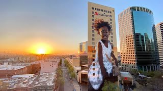 SGI, Street Art for Mankind and United Nations Celebrate the Largest Mural in Oakland History!