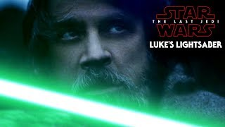 Luke's Lightsaber Hint Revealed & More! Star Wars The Last Jedi