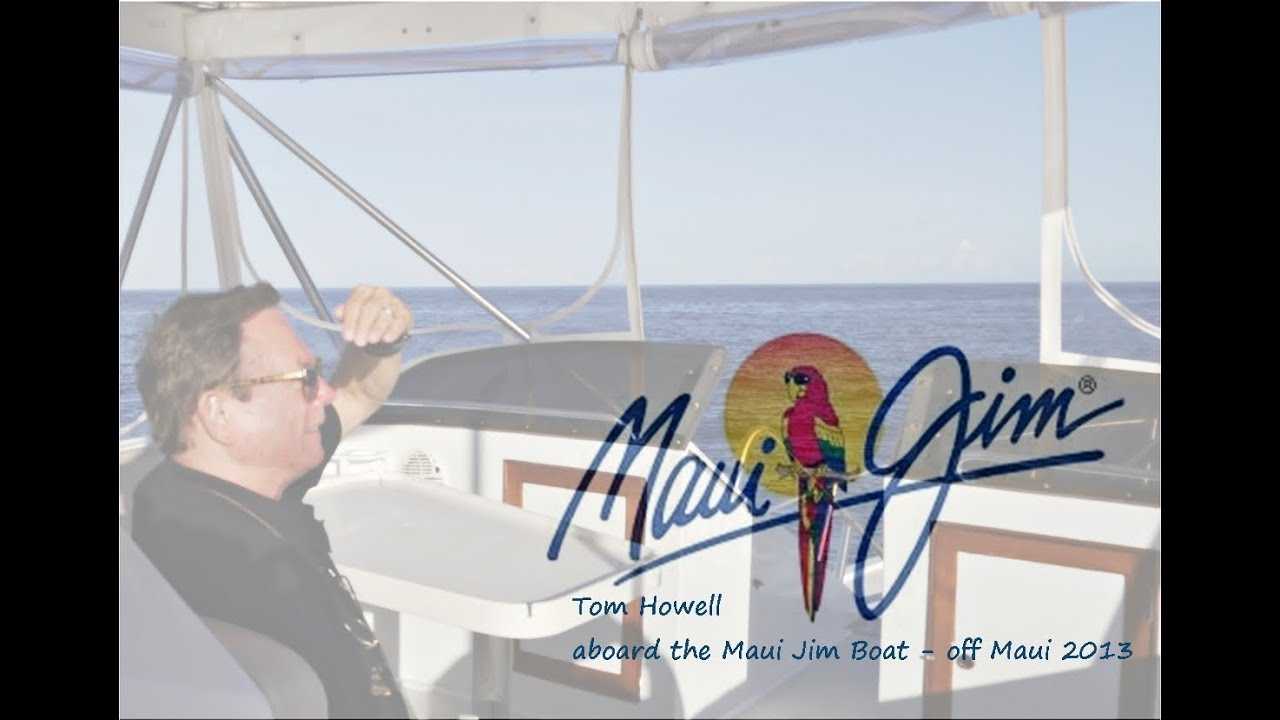 93bc6c98530 Aboard the Maui Jim Boat - Tom Howell s Sport Fishing Excursion. SLDdigital  D