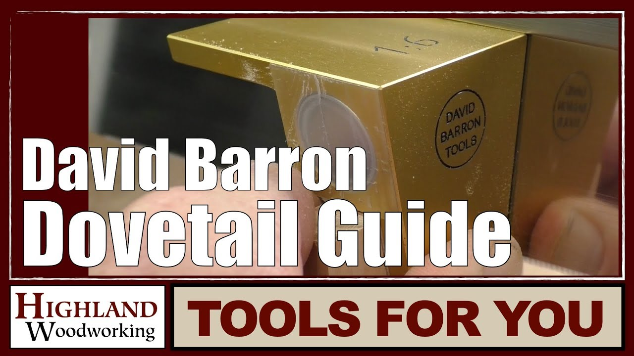 Review: David Barron Tools Dovetail Guide - by rdwile ...