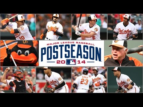Orioles 2014 Postseason Highlights