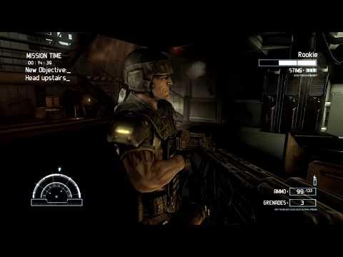 PC Aliens vs Predator 2010 Marine Story Campaign Part 1