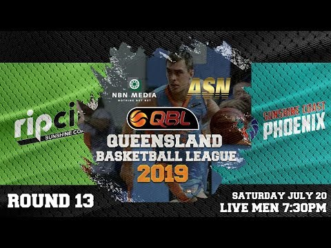 #QBL19 Round 13 - Sunshine Coast Phoenix at University of Sunshine Coast (Men)