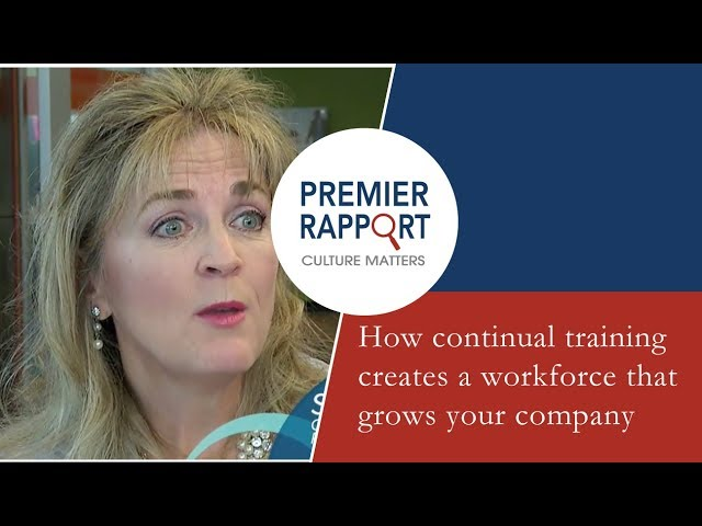 How continual training creates a workforce that grows your company