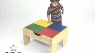 Childrens Wooden Train Set Table And Lego Table