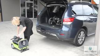 Heartway Easy Move (S21A) Automatic Folding Travel Mobility Scooter