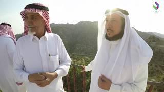 زيارة الشاعر الدكتور / عبدالرحمن العشماوي لمنطقة الشفا بلاد الطلحات