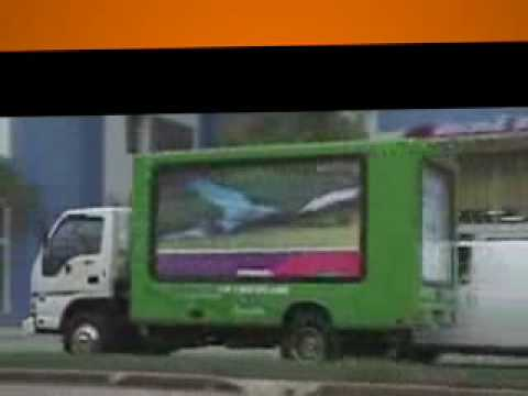 Lime Vizio mobile billboard advertising 2 promo