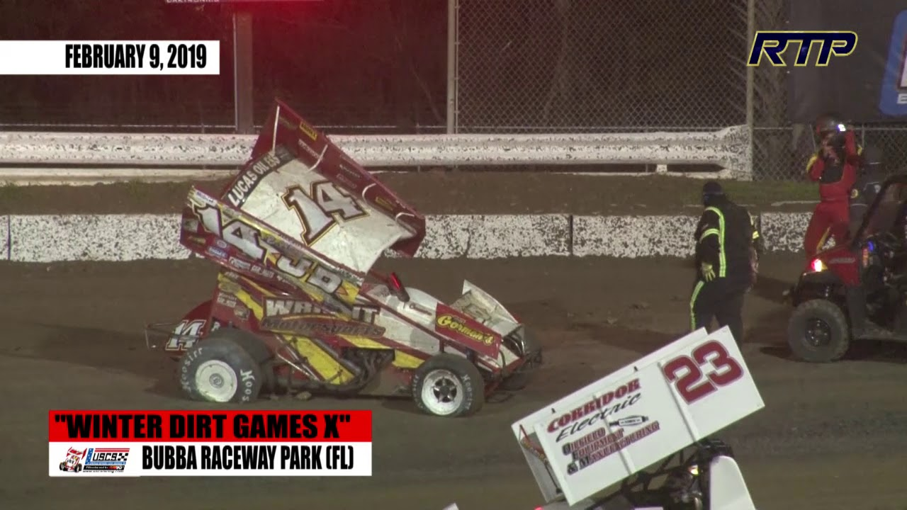 Bubba Raceway Park >> 2019 Uscs Outlaw Thunder Tour Winter Dirt Games X Night 2 At Bubba Raceway Park Highlights