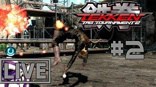 Tekken tag tournament 2 60FPS Live Online Rank battles #2 Giving out a good dicking