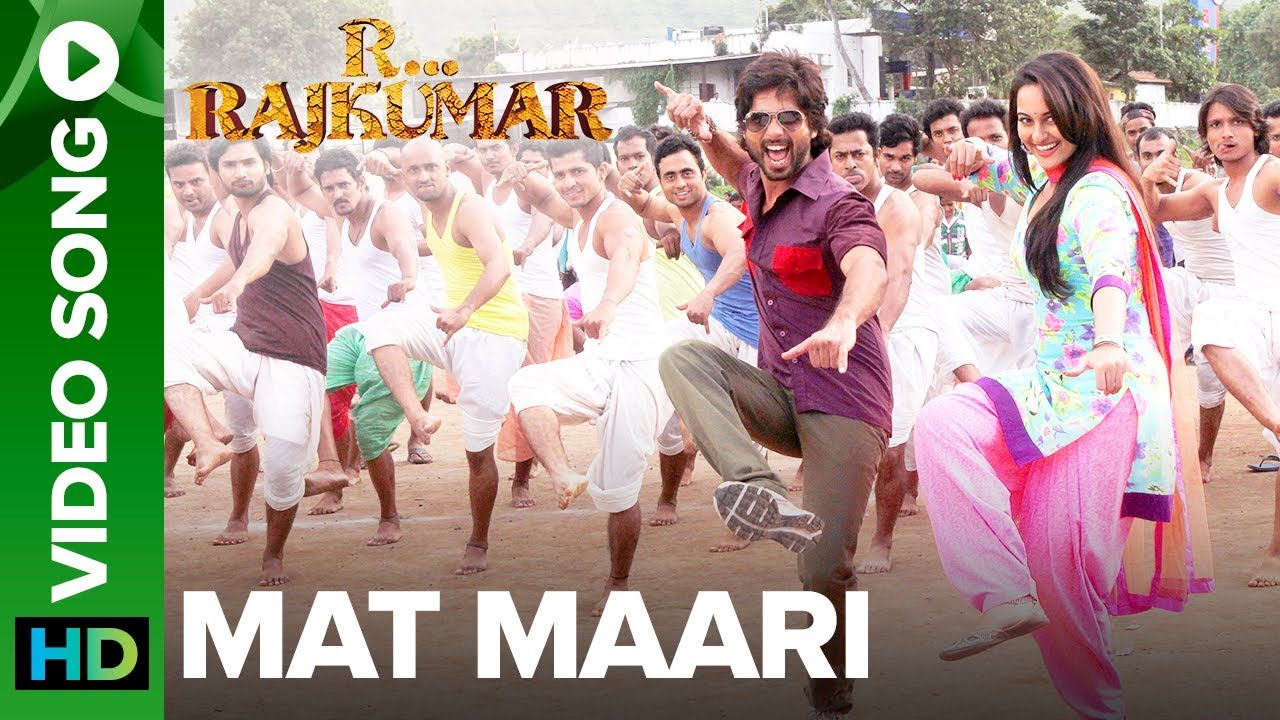 Download Mat Maari (Full Video Song) | R...Rajkumar | Sonakshi Sinha & Shahid Kapoor