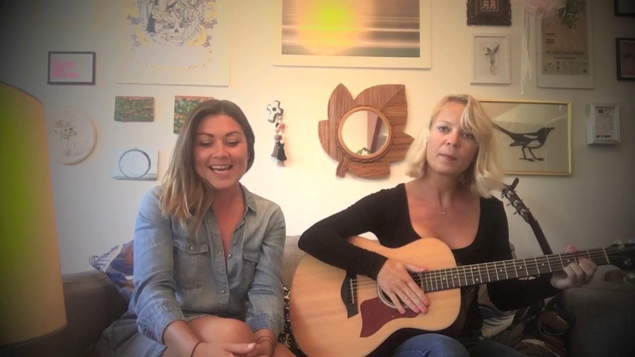 """Fire and the Flood"" Vance Joy cover by AYJAY DUO girls"