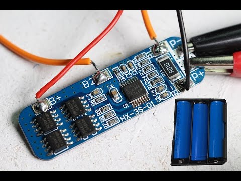 Lithium cells in Series with BMS - Battery Pack Considerations (MEHS) Episode 61