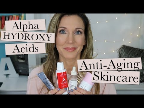 Alpha Hydroxy Acids for Anti-Aging | Glycolic, Lactic, Malic? What Works + How to Choose!