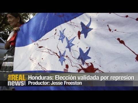 Honduras: Elección validada por represíon y sangre
