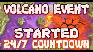 FORTNITE - 24/7 VOLCANO EVENT COUNTDOWN HAPPENING NOW - LOOT LAKE WATCH - POSSIBLE START TIMES
